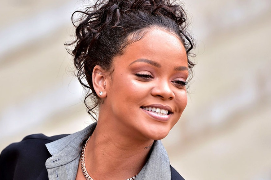 Rihanna took part in a march against hatred against Asians