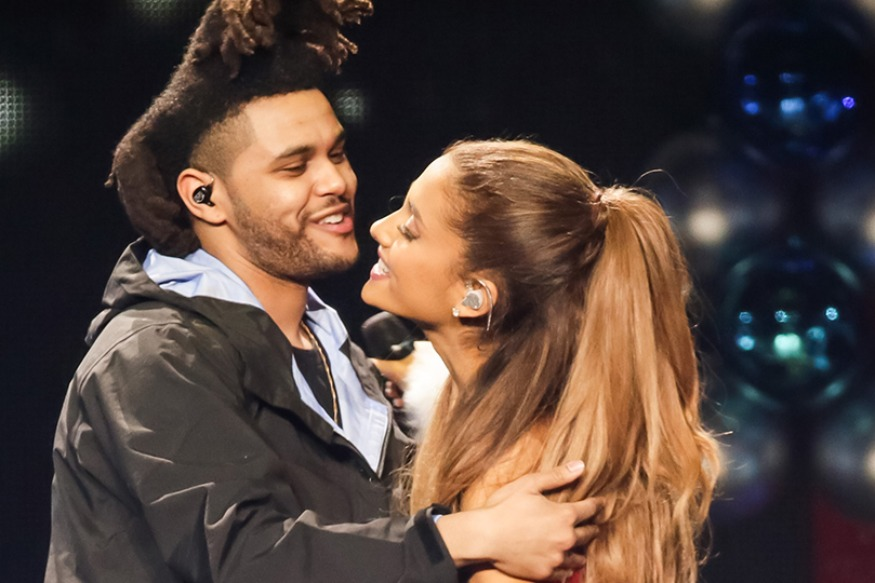 The Weeknd and Ariana Grande at No. 1 of the Billboard Hot 100
